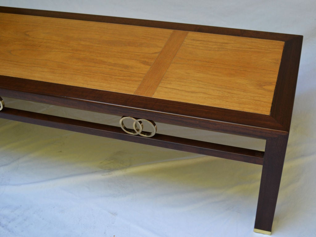 Mid-20th Century Baker Coffee Table Designed by Michael Taylor 1950's For Sale