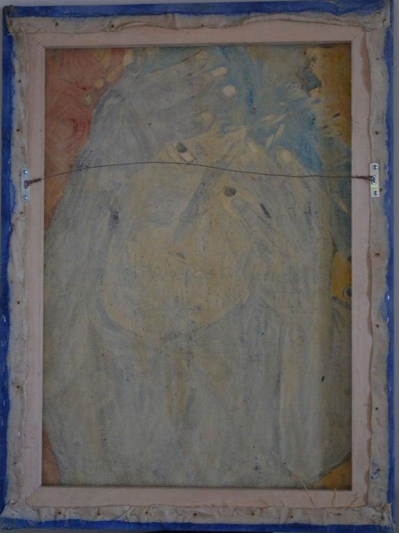 20th Century Homage to Eduardo Kingman - Painting by Crespo Diaz,