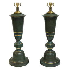 Lamps attributed to Carl Sorensen