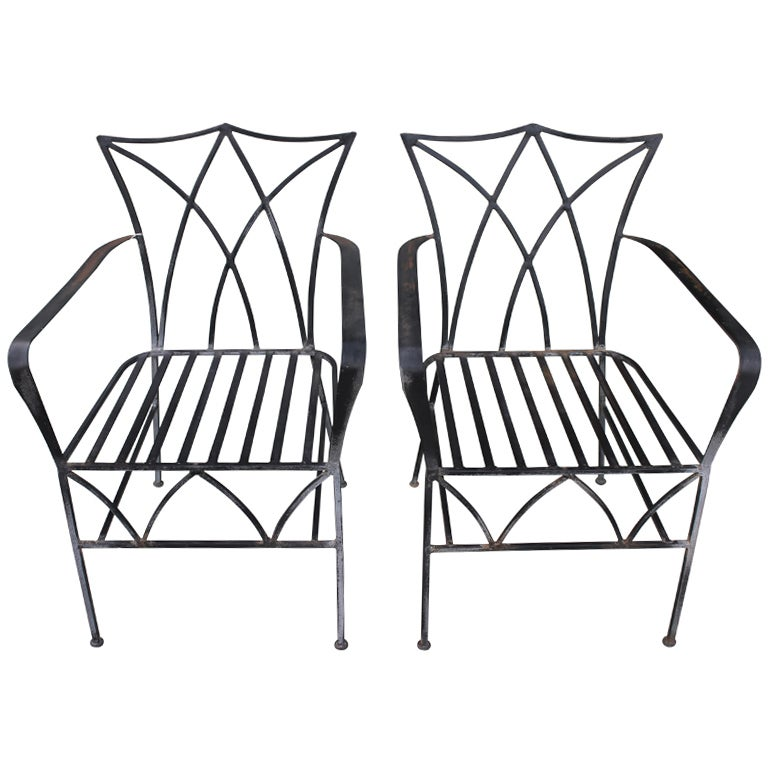 Hollywood Regency Patio Chairs At 1stdibs