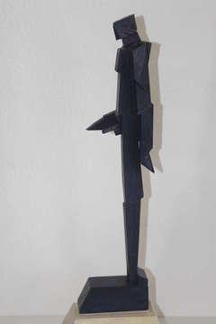 Richard Faralla Wood Standing Figure