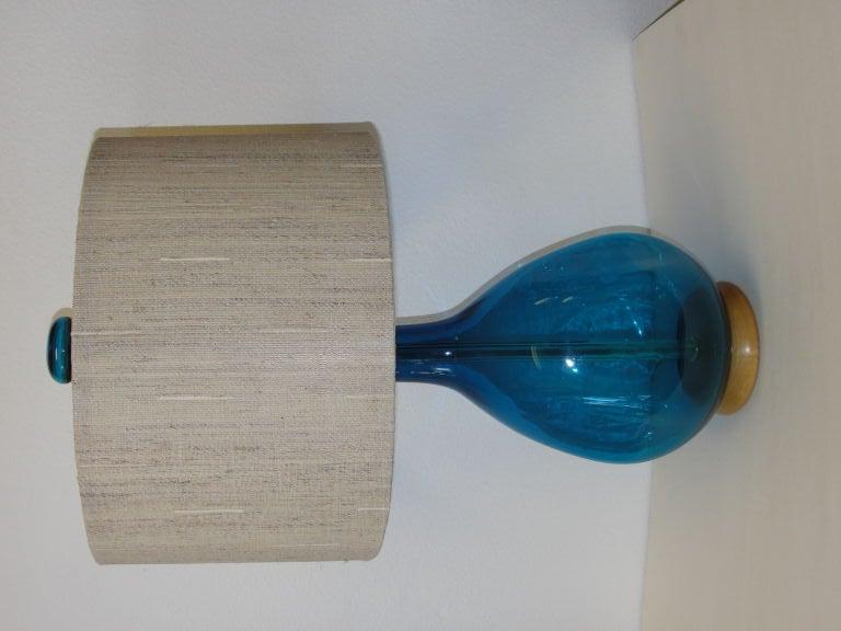 Blenko Lamp 2