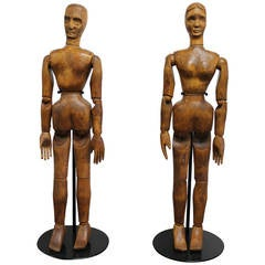 Articulated Wood Mannequins