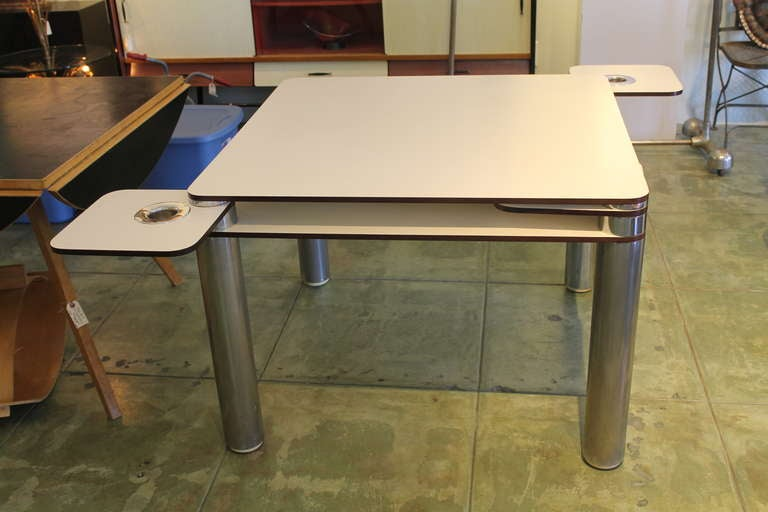 Poker Table By Joe Colombo At 1stdibs