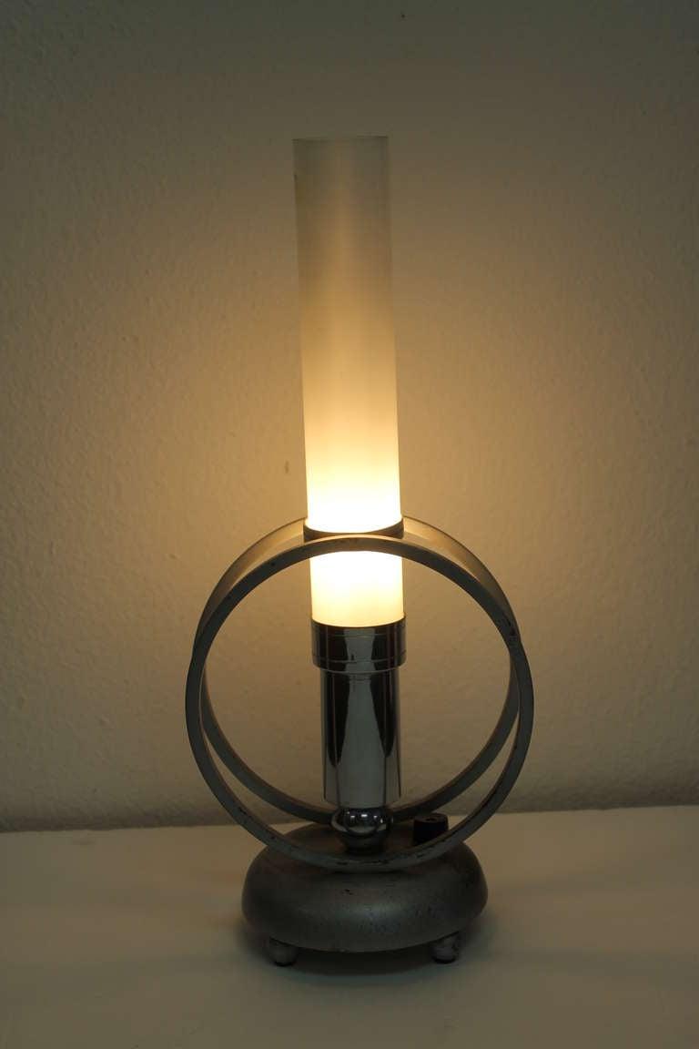 art deco boudoir lamp for sale at 1stdibs. Black Bedroom Furniture Sets. Home Design Ideas