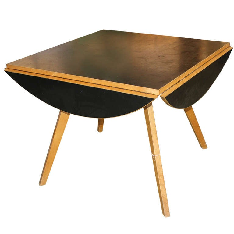 articulated table by max bill at 1stdibs. Black Bedroom Furniture Sets. Home Design Ideas