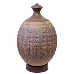 Bob Kinzie Ceramic Lamp