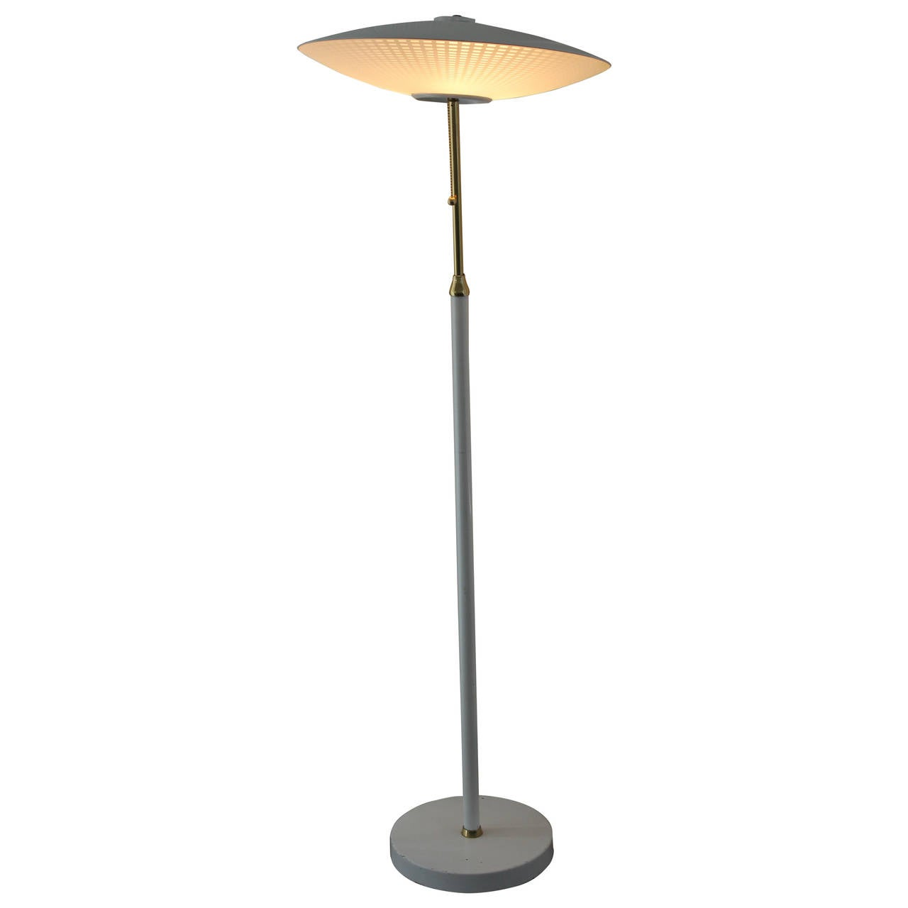1950s marbro flying saucer floor lamp for sale at 1stdibs 1950s marbro flying saucer floor lamp 1 arubaitofo Images
