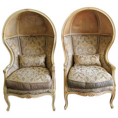 Vintage Old Hickory Tannery Cab Chairs