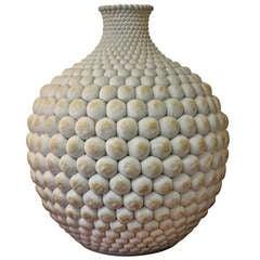Stoneware Vase, Godart, 1981