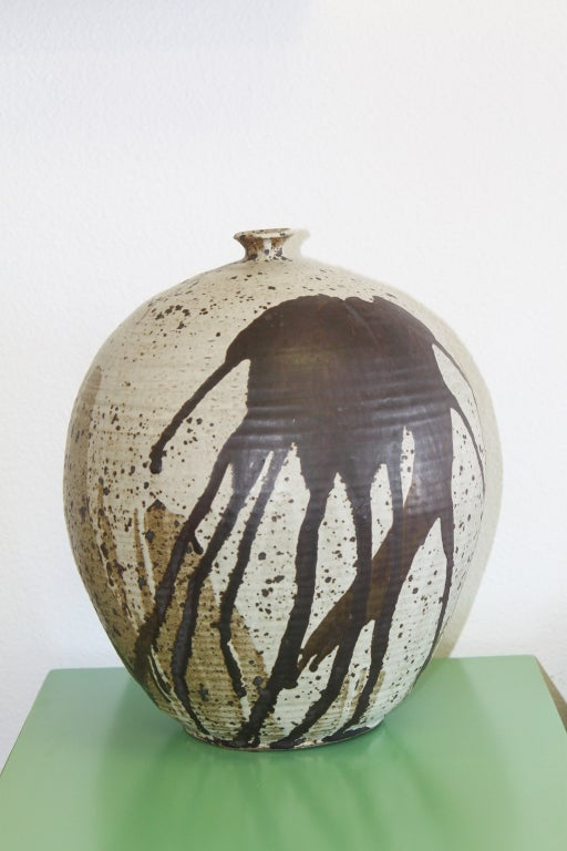 Robert C. Fritz (1920-1986) was an American ceramics and glass artist and professor at San Jose State University in California. As a major player in America's mid-20th century studio glass movement.