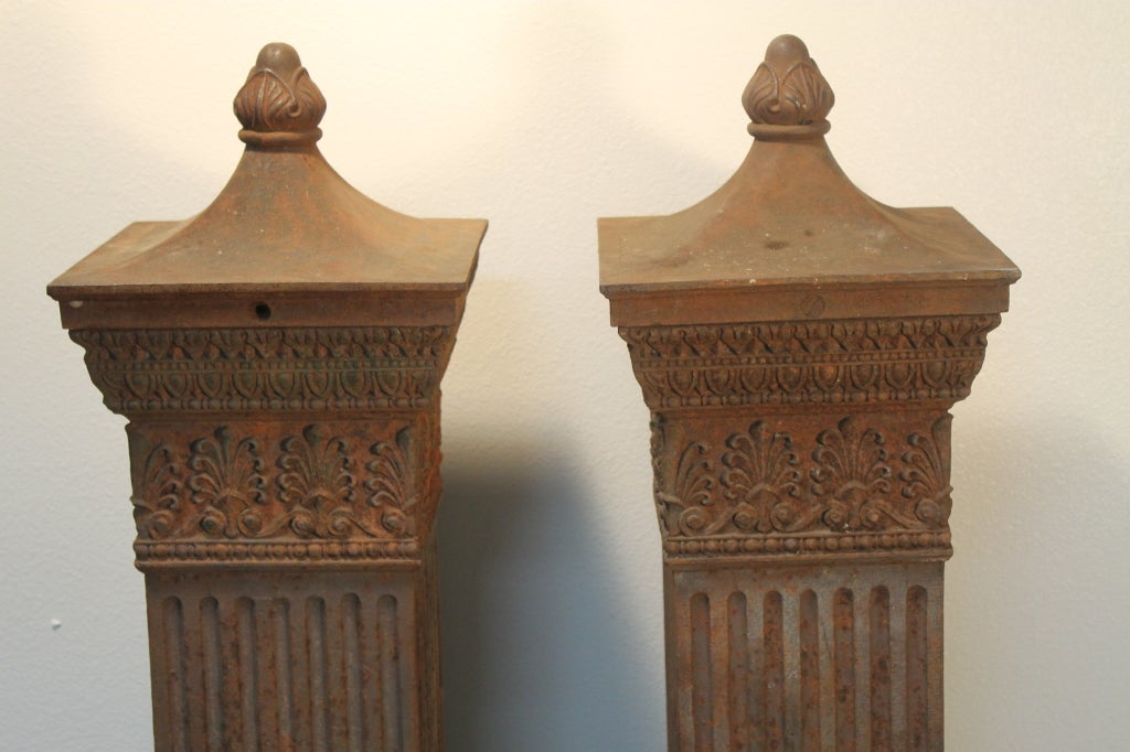 Cast Iron Columns : Cast iron columns from illinois for sale at stdibs