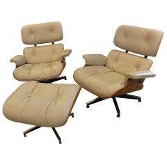 Eames Lounge Chairs & Ottoman