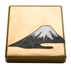 Mt. Fuji Writing Box