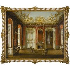 A German Rococo Interior by Mathias Werthmeister