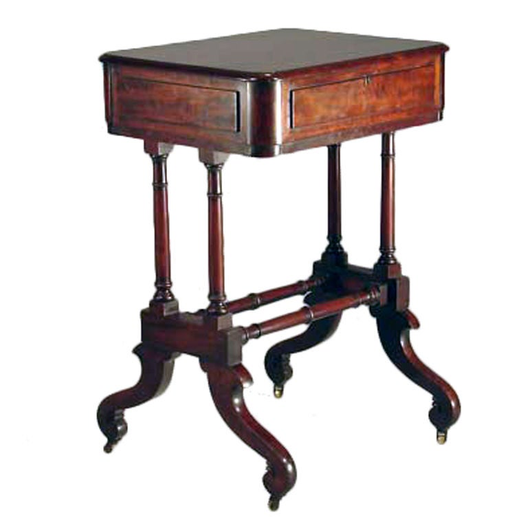 Mahogany Sewing Table at 1stdibs : XXX899413224219721 from www.1stdibs.com size 768 x 768 jpeg 39kB