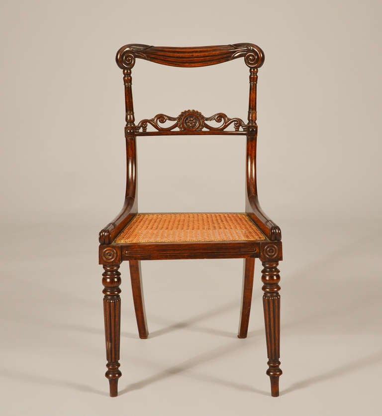 set of eight anglo indian chairs at 1stdibs