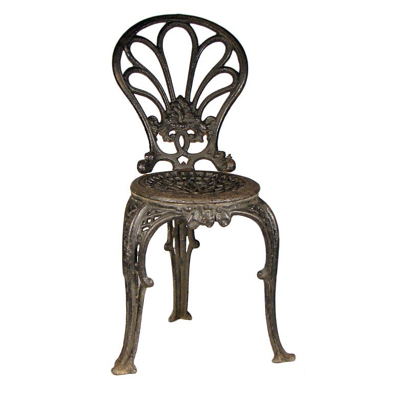 Cast Iron Chair At 1stdibs