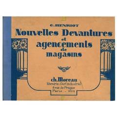 """""""Nouvelles Devantures et Agencements de Magasins"""" Book"""