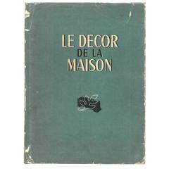 """""""Le Decor de la Maison"""" Book (9 Volumes)"""
