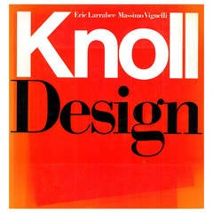 """Knoll Design"" Book on famous American 20th century furniture design"
