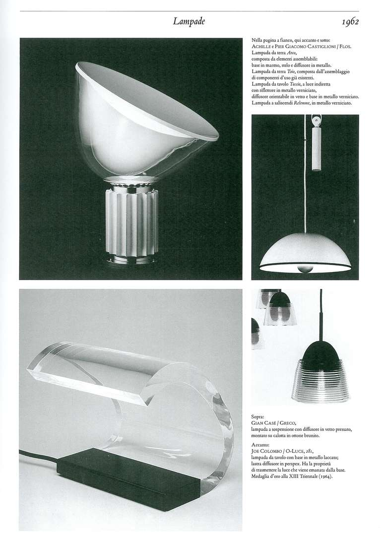 Repertorio del design italiano 1950 2000 for sale at 1stdibs for Design italiano
