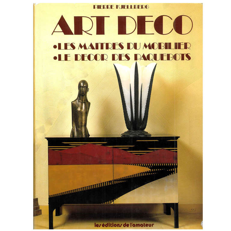 art deco les maitres du mobilier le decor des paquebots for sale at 1stdibs. Black Bedroom Furniture Sets. Home Design Ideas
