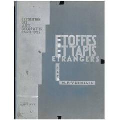 """Etoffes Et Tapis Etranger"" Folio by Verneuil"