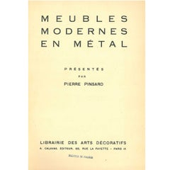 """Meubles Modernes en Metal"" Folio Presented by Pierre Pinsard"