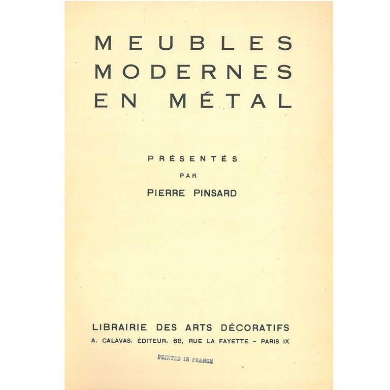 """""""Meubles Modernes en Metal"""" Folio Presented by Pierre Pinsard"""