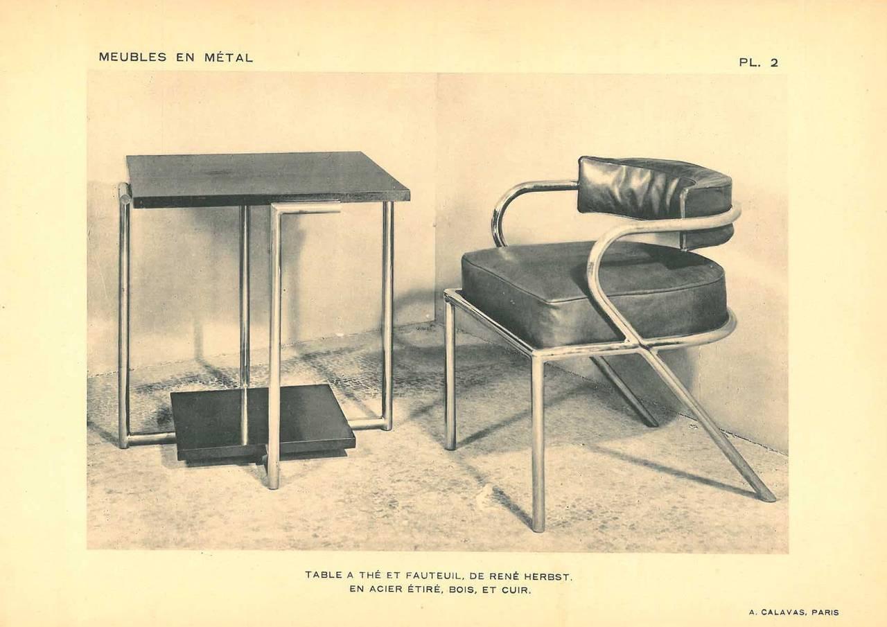 Meubles Modernes en Metal\