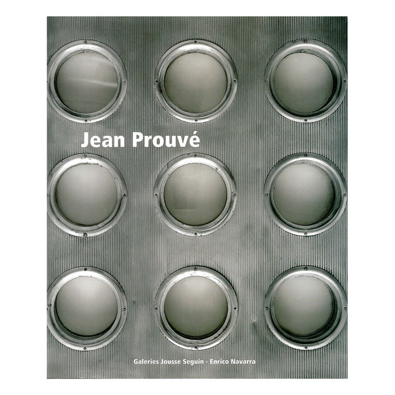 Jean prouve book at 1stdibs - Jean prouve reedition ...