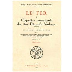 Le Fer - A L'exposition Internationale Des Arts Decoratifs Modernes
