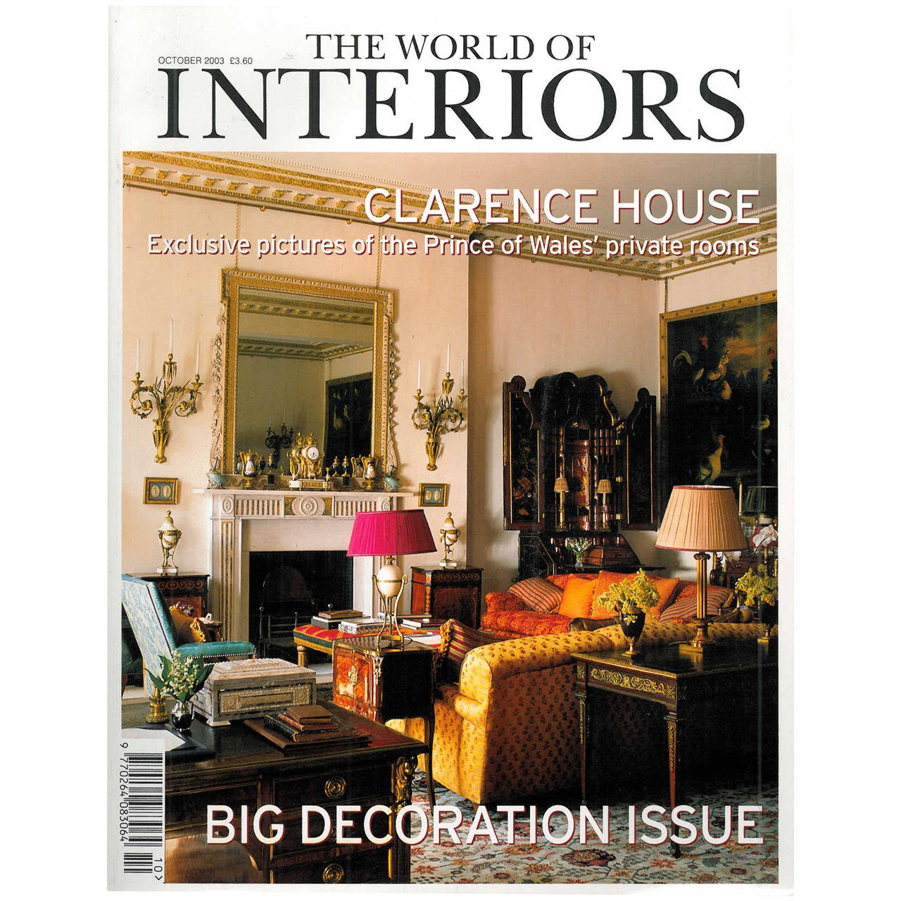 The World of Interiors Magazine For Sale at 1stdibs