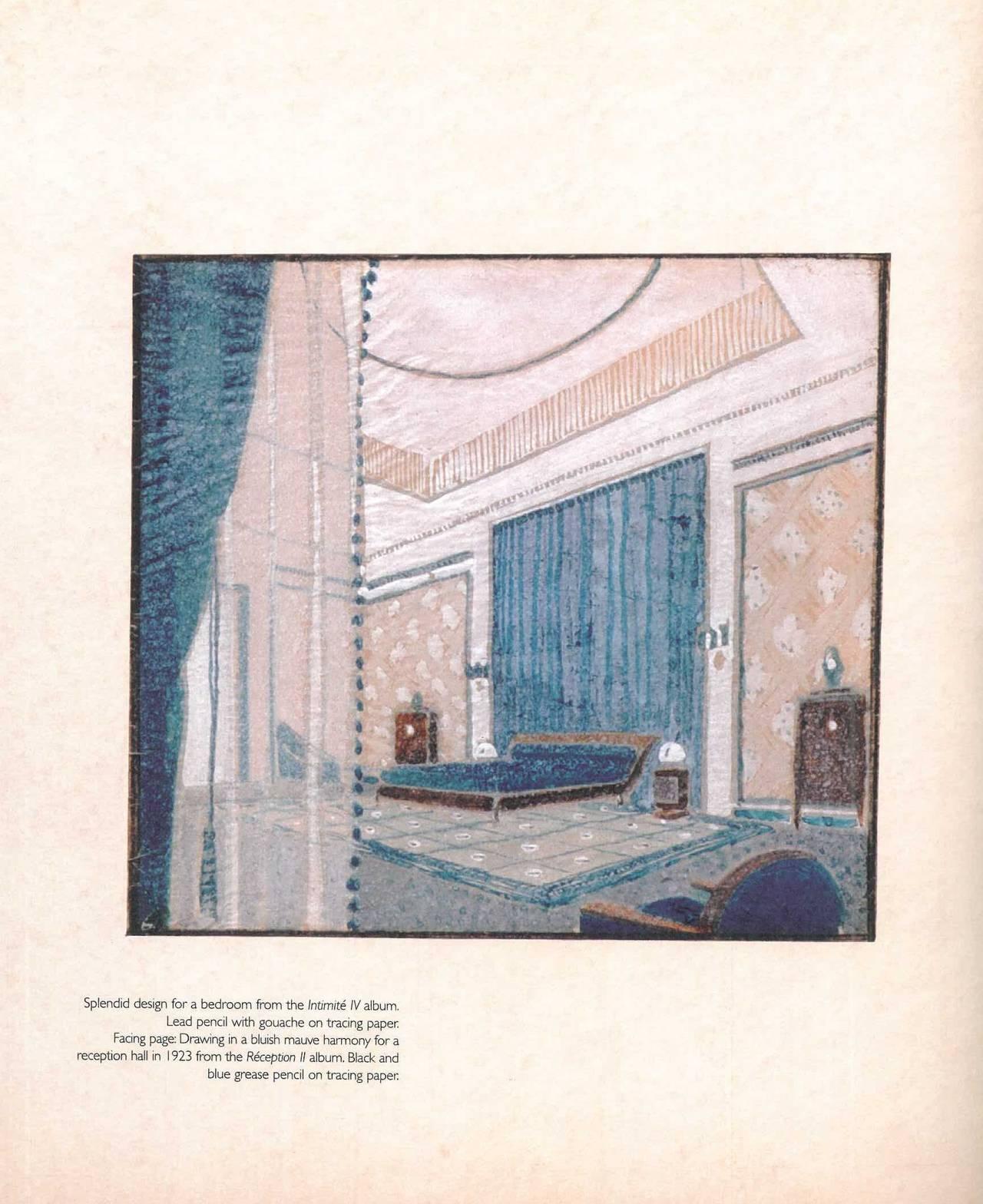 Furniture And Interior Design Books ~ Jacques emile ruhlmann furniture and interior design