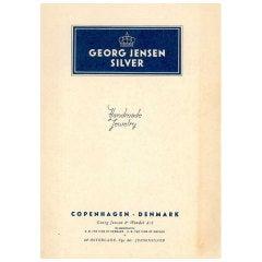 Georg Jensen Silver. (Jewelry Catalogue).