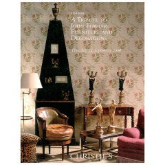 A Tribute to John Fowler. Christie's Sale Catalogue.