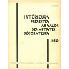 Intereurs presentes au Salon des Artistes Decorateurs 1930