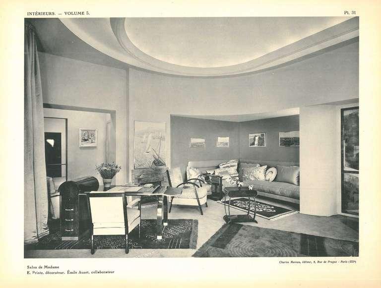 Intereurs presentes au salon des artistes decorateurs 1930 for Salon leleu