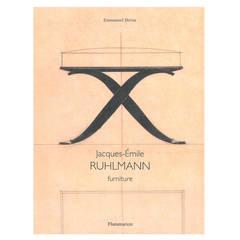 Jacques-Emile Ruhlmann Furniture and Interior Design, Books
