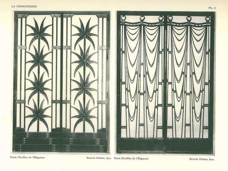 La Ferronnerie Exposition Des Arts Decoratifs Paris 1925 For Sale