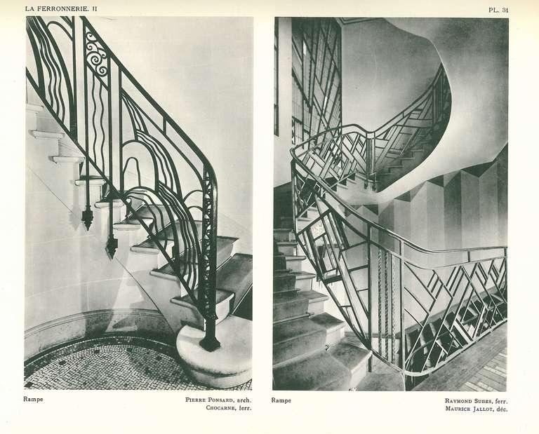 la ferronnerie exposition des arts decoratifs paris 1925 for sale at 1stdibs. Black Bedroom Furniture Sets. Home Design Ideas
