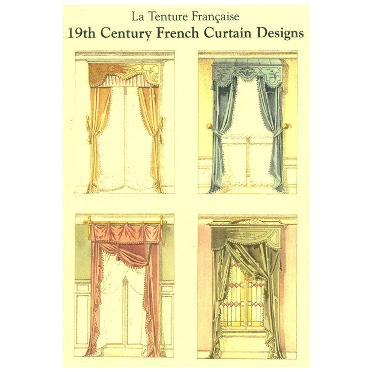 La tenture francais 19th century french curtain design for 19th century french cuisine