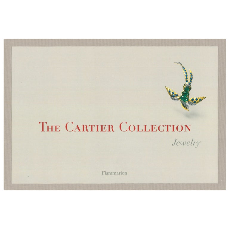 """""""The Cartier Collection - Jewelry"""" Book 1"""