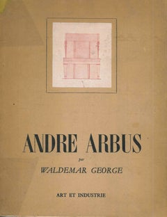 Andre Arbus by Georges Waldemar - catalogue on 20th century designer