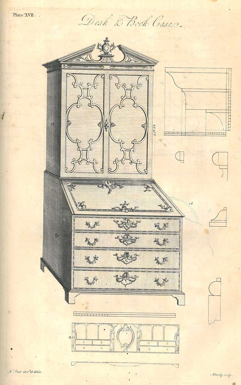 Ince & Mayhew - Original 1st edition furniture pattern book. In Excellent Condition For Sale In North Yorkshire, GB