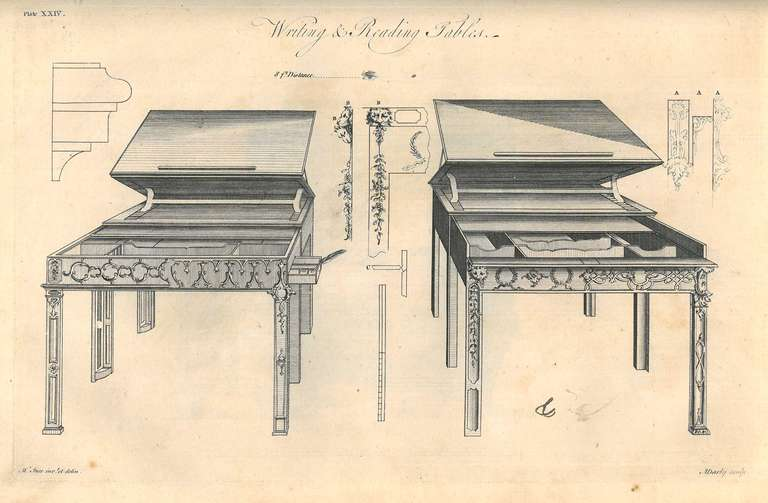 18th Century and Earlier Ince & Mayhew - Original 1st edition furniture pattern book. For Sale