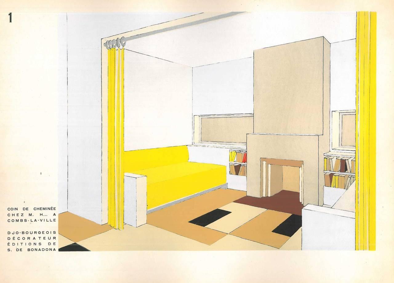 Decoration moderne dans l 39 interieur for sale at 1stdibs for Decoration interieur moderne