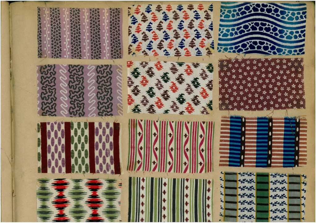 Sample Book of printed Fabrics and Textiles 2