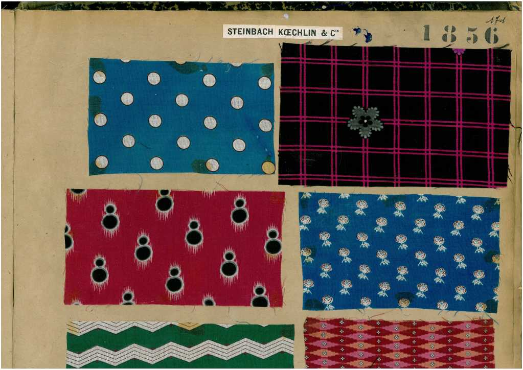 Sample Book of printed Fabrics and Textiles 6